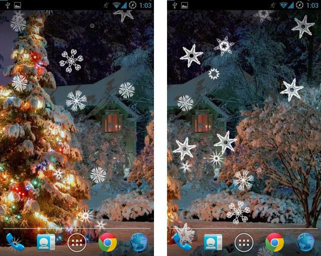 Live Wallpaper Weihnachten.Weihnachten Live Wallpaper Laden Sie Live Wallpaper Für Neujahr Und