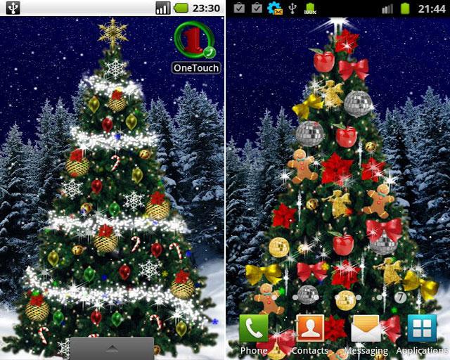 Скачать новогоднюю елку на компьютер