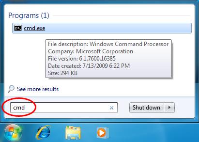 The command to auto-shutdown windows 7  Computer shutdown timer